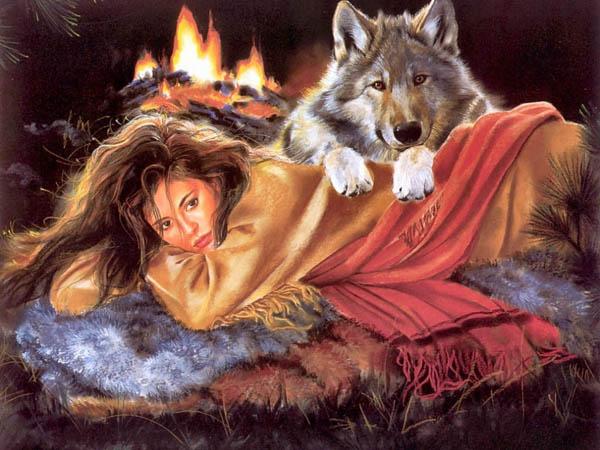 Кларисса Пинкола Эстес. Бегущая с волками.