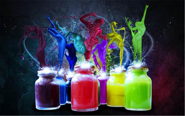 Медитация «Энергия цвета»