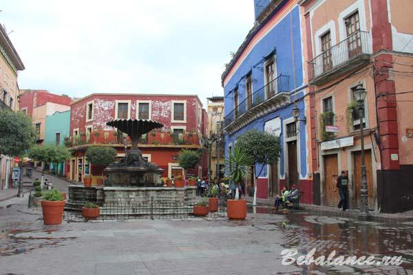 Плаза дель Баратилльо, Гуанахуато.