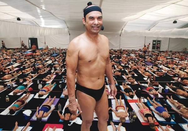Бикрам Чоудхури, бикрам йога.