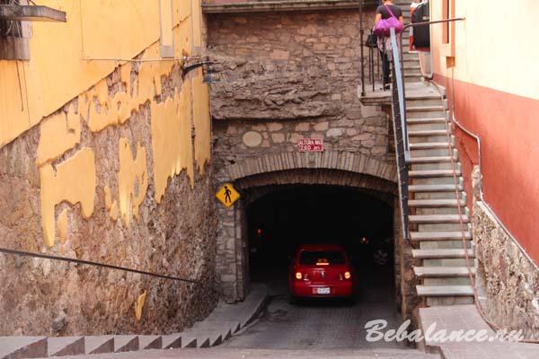 Подземные улицы Гуанахуато.