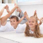 Как организовать занятие йогой для детей
