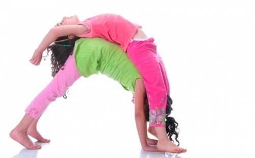 Детская йога, йога для детей.