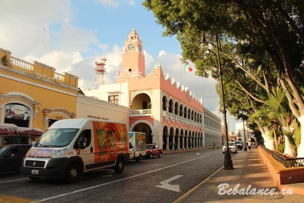 Здание муниципалитета Мериды, Мексика.