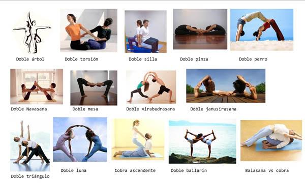 Парная йога, йога в парах.