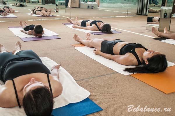 Влияние Бикрам йоги на здоровье человека.