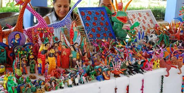 Мексика рынок сувениров.