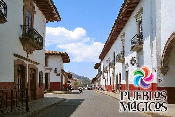 Волшебные города Мексики.
