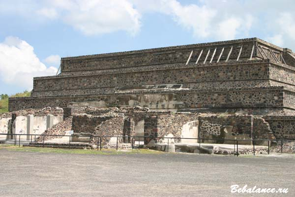 Пирамиды Теотиуакан, Мексика.