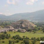 Пирамиды Теотиуакан в Мексике